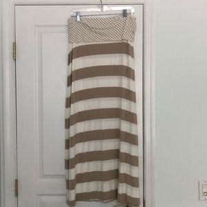 Calvin Klein maxi skirt.